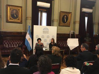 El Senado Nacional distinguió a la reconocida investigadora Dora Barrancos por su trayectoria