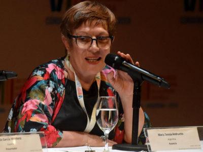 Nuestra socia María Teresa Andruetto fue quien clausuró el congreso
