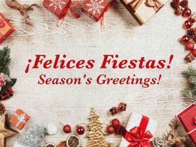 CADRA les desea Felices Fiestas